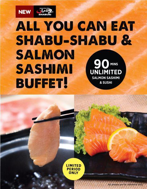 Salmon Shabu Seasonal Buffet