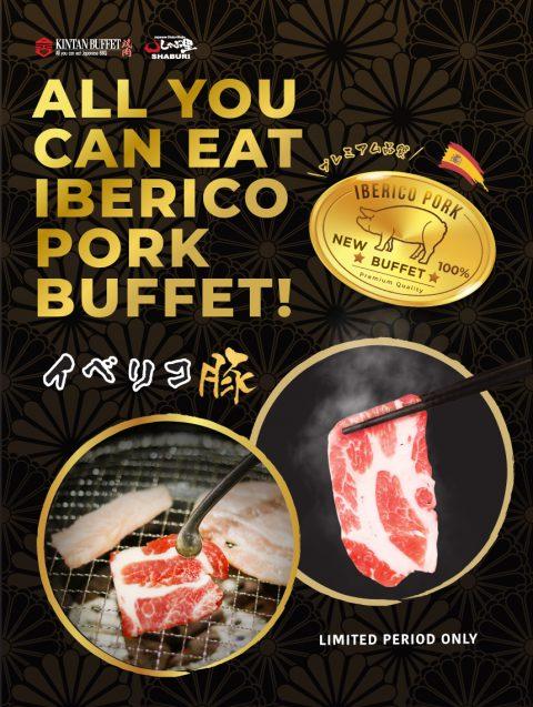Iberico Pork Seasonal Menu
