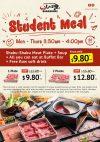 Shaburi Student Meal