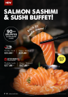 All-You-Can-Eat Salmon Sashimi & Sushi!