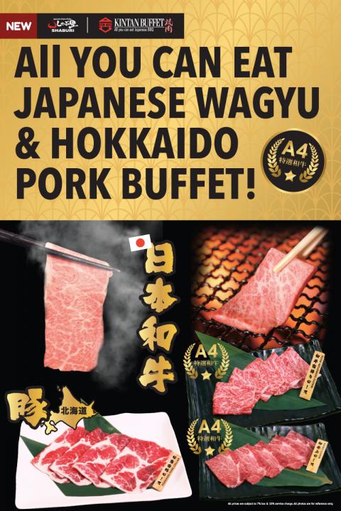 S&K Japanese Wagyu Buffet